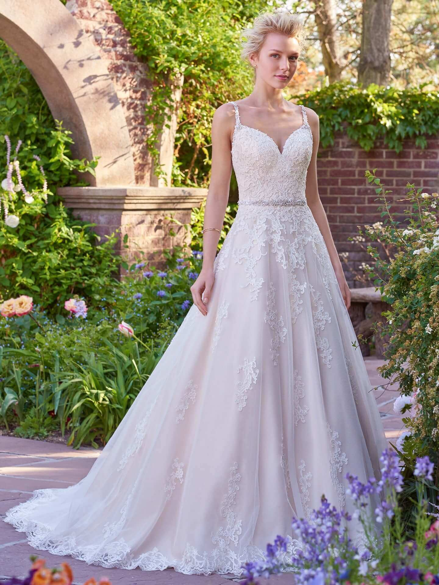 9d042fa1f4a Maggie Sottero Light Gold Wedding Dress